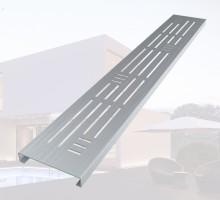 - 친환경소재 알루미늄재질로 제작   - 건물 내/외부에 보행자 통행로에 설치가 적합하다.- 디자인 타공 형태로 제품 설치시 인테리어효과.- 소형배수로, 안전보행용에 특화된 제품